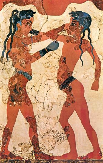 Спорт в Древней Греции как продолжение войны и общественного насилия