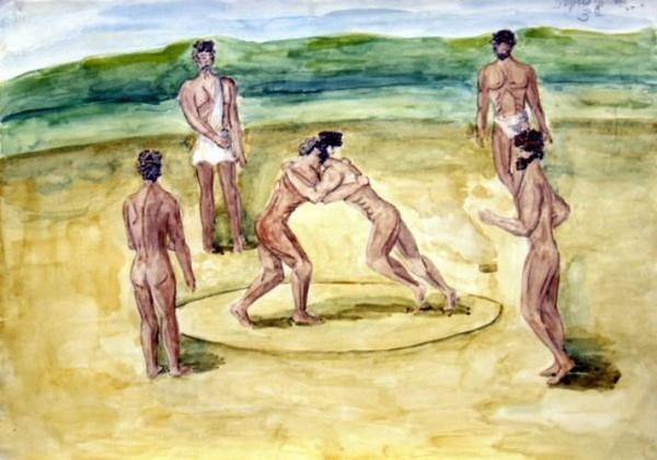 Первый вид спорта на первых олимпийских играх
