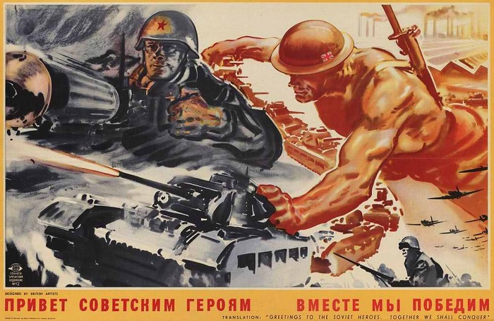 С чем поздравил бойцов ив сталин на параде 7 ноября 1941г