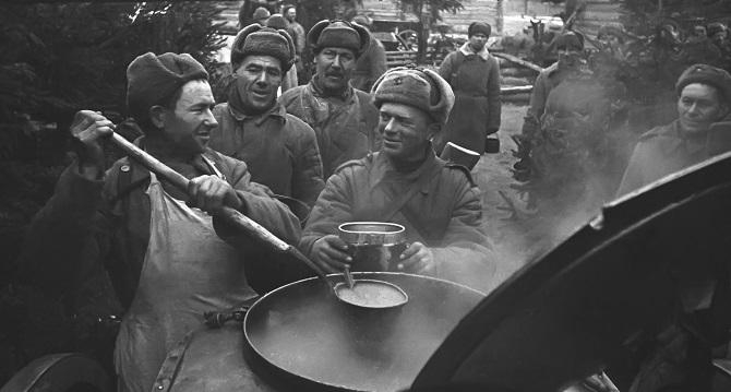 Как наказывали в ВОВ расхитителей еды у солдат
