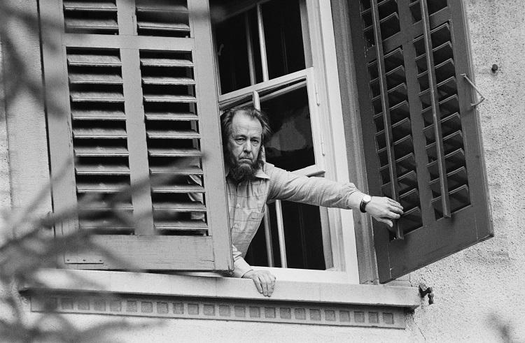 Alexandr Solzhenitsyn in Zurich