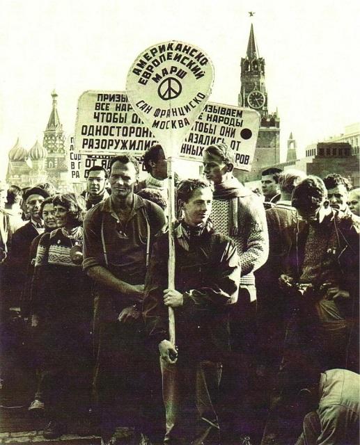 Марш мира квакеров Сан-Франциско-Москва, 1961 год