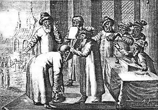 Как французы в XVI-XVII веке описывали Московию