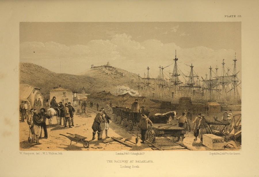Как англичане в 1855 году построили первую железную дорогу в Крыму
