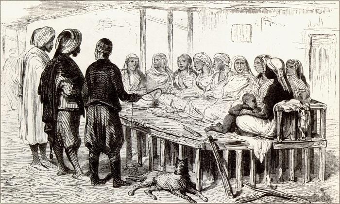 Экспорт рабов с Северного Кавказа был прекращён только в 1840-е