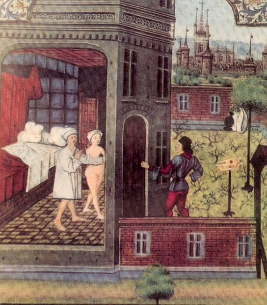Средневековый город: низкая брачность, малая детность, общество среднего возраста
