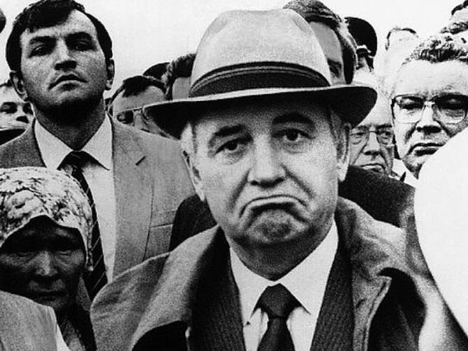 Горбачёв в 1987 году: Крым надо постепенно выводить из состава Украины